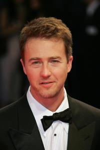 Edward Norton at the screening of