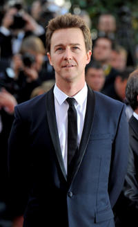 Edward Norton at the France premiere of