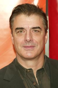 Chris Noth at the NBC upfront.