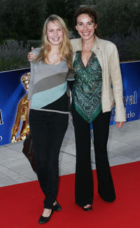 Anna and Isabel Otero at the closing ceremony of the 46th Annual Monte Carlo Television Festival.
