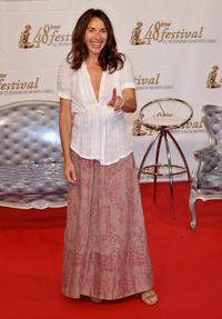 Isabel Otero at the TF1 party during the 2008 Monte Carlo Television Festival.