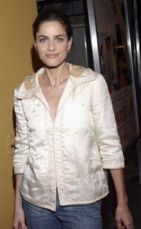 Amanda Peet at the L.A. premiere of