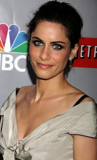 Amanda Peet at the NBC All-Star Event in Pasadena, CA.