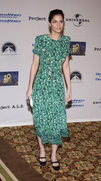 Amanda Peet at the 5th Annual Project A.L.S. Benefit Gala.