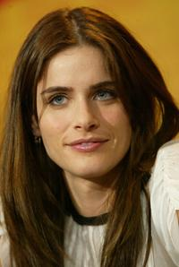 Amanda Peet at the news conference of