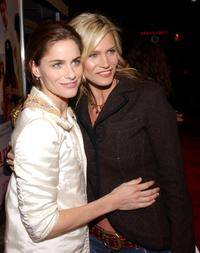 Amanda Peet and Natasha Henstridge at the Los Angeles premiere of