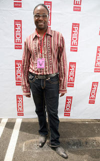 Billy Porter at the LA Pride Festival in California.
