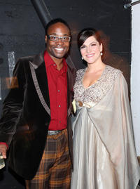 Billy Porter and Singer Shoshana Bean at the Pride Night Out during the Gay Pride Festival.