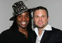 Billy Porter and Sam Harris at the Actor's Fund S.T.A.G.E. Too Tribute: Hooray For Love.
