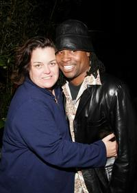 Rosie O'Donnell and Billy Porter at the premiere party of
