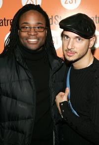 Billy Porter and Ari Gold at the play opening night of