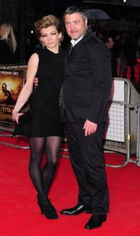 Vincent Regan and Guest at the world premiere of