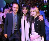 Giovanni Ribisi, Michelle Rodriguez and Lucia Ribisi at the after party of the California premiere of