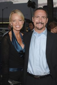Janet and Jim Rome at the premiere of