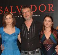 Leonor Watling, director Manuel Huerga and Ingrid Rubio at the photocall of