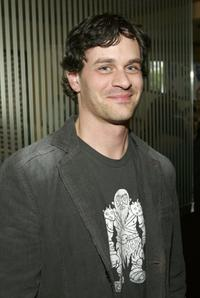 Tom Everett Scott at the 2006/2007 TNT and TBS UpFront reception.