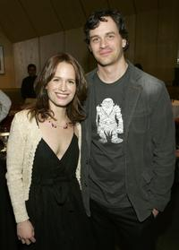 Elizabeth Reaser and Tom Everett Scott at the 2006/2007 TNT And TBS UpFront Reception.