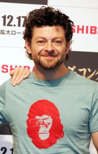 Andy Serkis at the photocall for