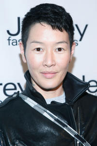 Jenny Shimizu at the 7th Annual Jeffrey Fashion Cares in New York.