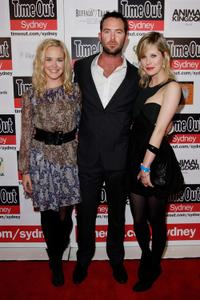 Krew Boylan, Sullivan Stapleton and Alyssa McClelland at the premiere of