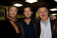 Mitch Davis, Sullivan Stapleton and Guest at the St Kilda Film Festival.