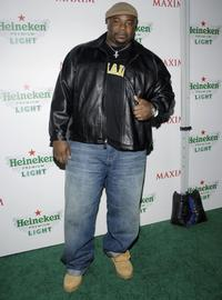 Marcello Thedford at the Maxim's unveiling of New Heineken Premium Light.