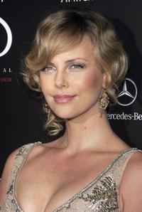 Charlize Theron at the Social Hollywood nightclub opening.