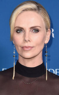 Chalize Theron at PORTER's Third Annual Incredible Women Gala in Los Angeles.