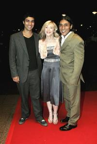 Chris Simpson, Kelli Hollis and Ramon Tikaram at the Times BFI London Film Festival.