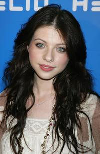 Michelle Trachtenberg at a party to celebrate the launch of a new mobile communications service Helio.