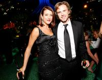 Kate Walsh and Sam Trammell at the HBO EMMY Party.