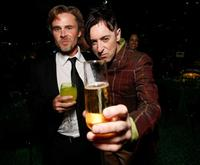Sam Trammell and Alan Cumming at the HBO EMMY Party.