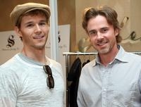 Ryan Kwanten and Sam Trammell at the 66th Annual Golden Globe Awards.