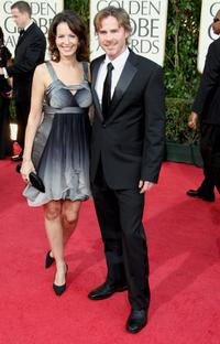 Missy Yager and Sam Trammell at the 66th Annual Golden Globe Awards.