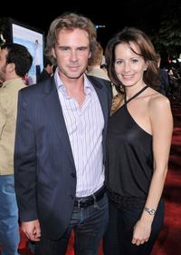 Sam Trammell and Missy Yager at the premiere of