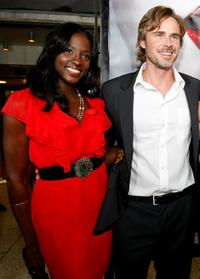 Rutina Wesley and Sam Trammell at the Los Angeles premiere of