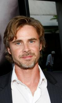 Sam Trammell at the Los Angeles premiere of