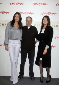 Asia Argento, Moran Atias and Dario Argento at the photocall of