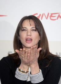 Asia Argento at the photocall of