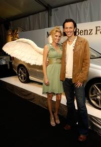 Gran Centenario Angel and Steve Valentine at the Mercedes Benz Fashion Week.