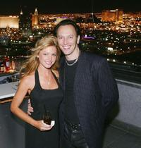 Tamara Witmer and Steve Valentine at the Palms Casino Resort 4th Anniversary Party.