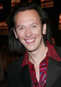 Steve Valentine at the A and E Television Networks' 20th anniversary celebration.