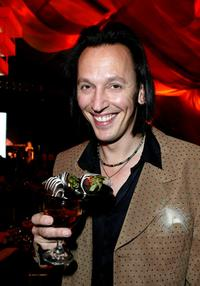Steve Valentine at the Children Uniting Nations' program party.