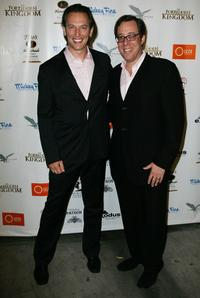 Steve Valentine and Director Rob Minkoff at the
