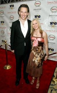 Steve Valentine and Guest at the 18th Annual Night of 100 Stars Gala.
