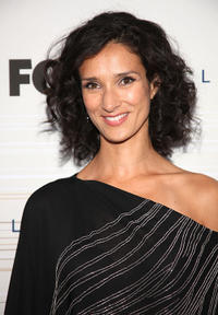 Indira Varma at the Fox's Fall Eco-Casino party in California.