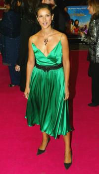 Indira Varma at the UK premiere of