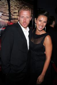 Kevin McKidd and Indira Varma at the premiere of