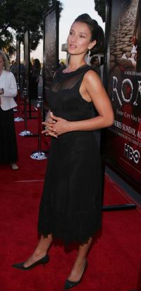Indira Varma at the premiere of