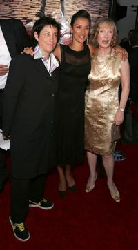 Carolyn Strauss, Indira Varma and Lindsay Duncan at the premiere of